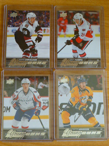 2015-2017 Young Guns,Canvas,Portraits,Checklists,Hockey Cards