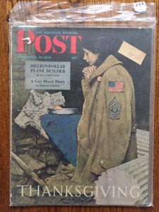 Saturday Evening Post Magazines with Rockwell covers and more