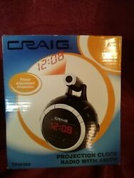 Craig CR45352 Dual Alarm Clock Digital AM/FM Radio with 0.6″ LED Display Snooze