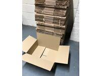Single Wall Cardboard Boxes 17.5x13.5x5.75 inches (444x344x148 mm) x175