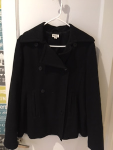 Mimi Maternity black wool-blend jacket or short coat