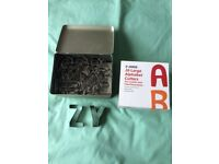PASTRY / COOKIE CUTTERS FULL ALPHABET (8CM LETTERS)