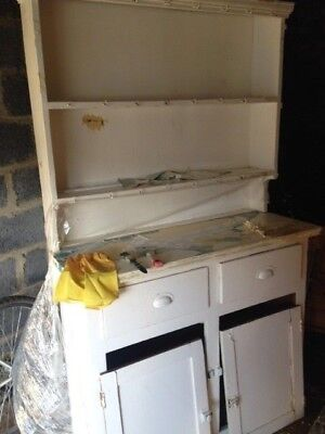 Small White Dresser with Top