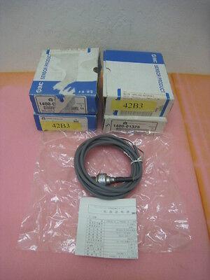 4 NEW AMAT 1400-01325 Sensor Pressure 0-1 MPA 1/8 PT 3 wire 3M LG, PSE520-T01