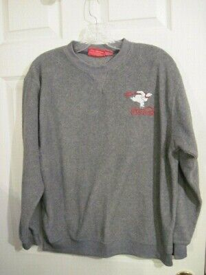 Women's Gray Coca Cola Fleece Sweatshirt By Coca Cola size Large