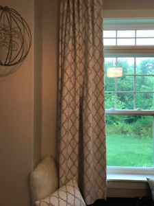 Gorgeous Black Out Pottery Barn Curtains Perfect Condition
