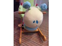 Little Bird Told Me Curious Caterpillar Infant Rocker