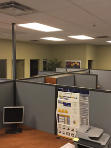 Office space fully furnished or not available - different sizes