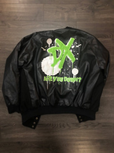 D Generation X WWF Leather Jacket