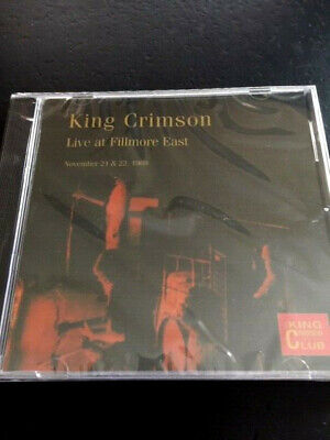 King Crimson (Fripp,Lake,Sinfield) - Live At Fillmore East 1969  CD Club 25  (King Crimson Live At Fillmore East 1969)