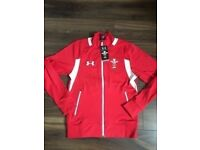 New Wales under armour rugby jacket