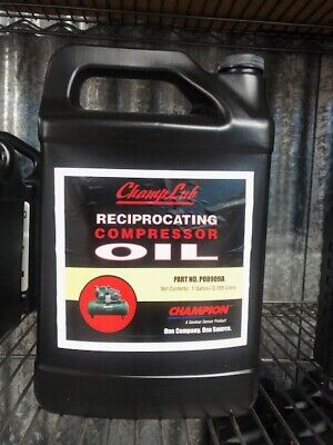 Champion Champlub Non-detergent Reciprocating Compressor Oil P08909a -1 Gal.