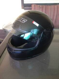 Black motorcycle helmet HJC Woodville Charles Sturt Area Preview