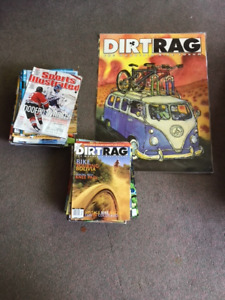 Dirt Bike and Sports Illustrated magazines