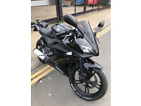 2009 Yamaha YZF R-125 r125 in Black great condition