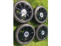 "Genuine Audi s line 18"" alloys, Audi/Volkswagen/seat/golf"