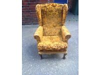 Wing Back Chair Project