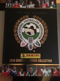 Panini Professional Footballers Association 2014 Football sticker Collection