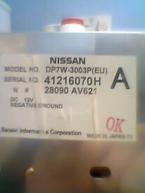 **NISSAN DP7W-3003P (EU) IN CAR GPS MONITOR FOR NISSAN** **£30 ONO**