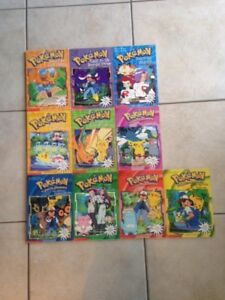 Pokemon Chapter 10-Book Set for Sale