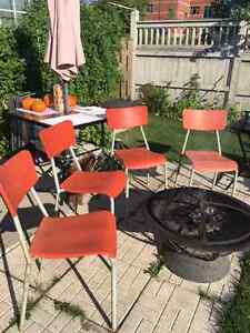 Matching Outdoor Chairs Cambridge Kitchener Area image 1