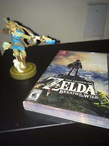 Legend of Zelda: Breath of the Wild + Amiibo (SWITCH)