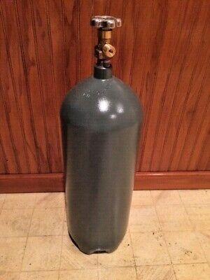 20 lb STEEL CO2 Cylinder Tank Recertified  Fresh Hydrostatic Test CGA320