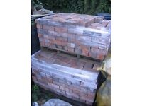 WIRE CUT / COMMON RECLAIMED BRICK 3 INCH THICK PRESTON LANCASHIRE