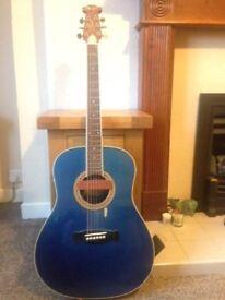 morris tornado six string guitar