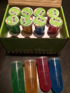 Party Favours/Pinata fillers (slime, sticky frogs & splat balls)