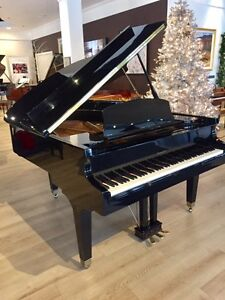 Howard Grand Piano - Polished Ebony Excellent Condition