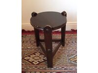Lovely Little Vintage Arts and Crafts side table, stool