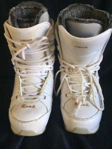 Head Ladies Snowboard Boots Size 9