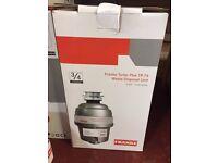 Franke Continuous Waste Disposal Unit Turbo Plus TP-75 3/4 HP 2700 RPM *NEW*