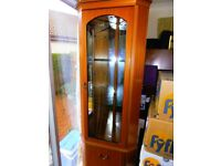 DRASTICALLY REDUCED ! - LIGHTED CORNER DISPLAY UNIT !