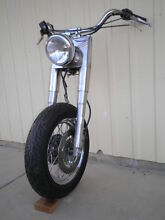 HARLEY COMPLETE FRONT END AND REAR WHEEL Renmark South Renmark Paringa Preview