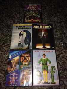 Awesome DVD's...Elf, March of the Penguins, etc. Just $4 ea!!!