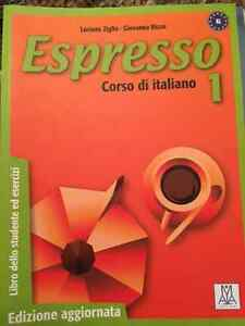 """Espresso Corso di italiano"" Ottawa U textbook - Like new! Gatineau Ottawa / Gatineau Area image 1"