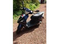 Piaggio Fly 3V 125 scooter moped, 2014 reg, 6k miles, full MOT