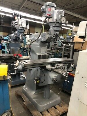 Bridgeport Series 1- 2hp Br2j Variable Speed Vertical Turret Milling Machine