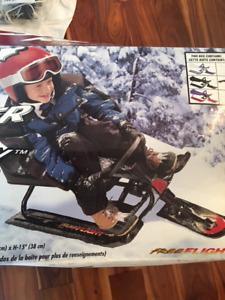 GT snowracer toboggan new in box!!