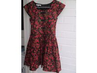 Girl's floral dress for an occasion