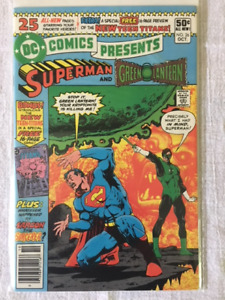 DC Comics Presents-1st Appear. of the NEW TEEN TITANS comic book