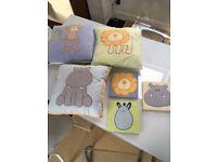 JoJo Maman Bebe nursery set