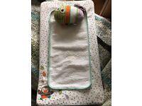 Luxury baby changing mattress Mamas & Papas