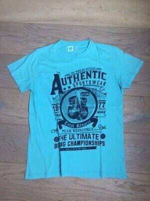 T-shirt turquoise L