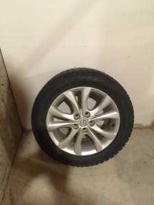 Winter tires and wheels