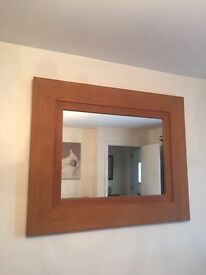 NEXT Hartford real wood frame big mirror £99