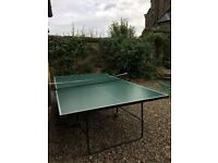 SOLD SUBJECT TO COLLECTION CHIODI folding Table Tennis Table - full size (5ft x 9ft)