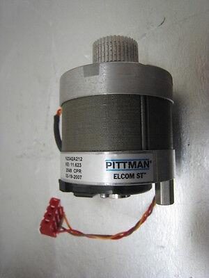 ASYST Technology Pittman 9701-2490-02 Assy MOTOR Encoder Radial